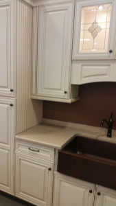 kithen counter and cabinets remodel