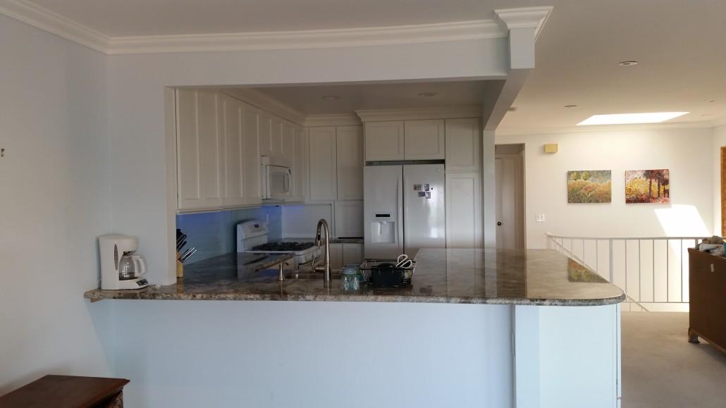 Ventura hillside kitchen remodel genhawk construction for Bath remodel ventura